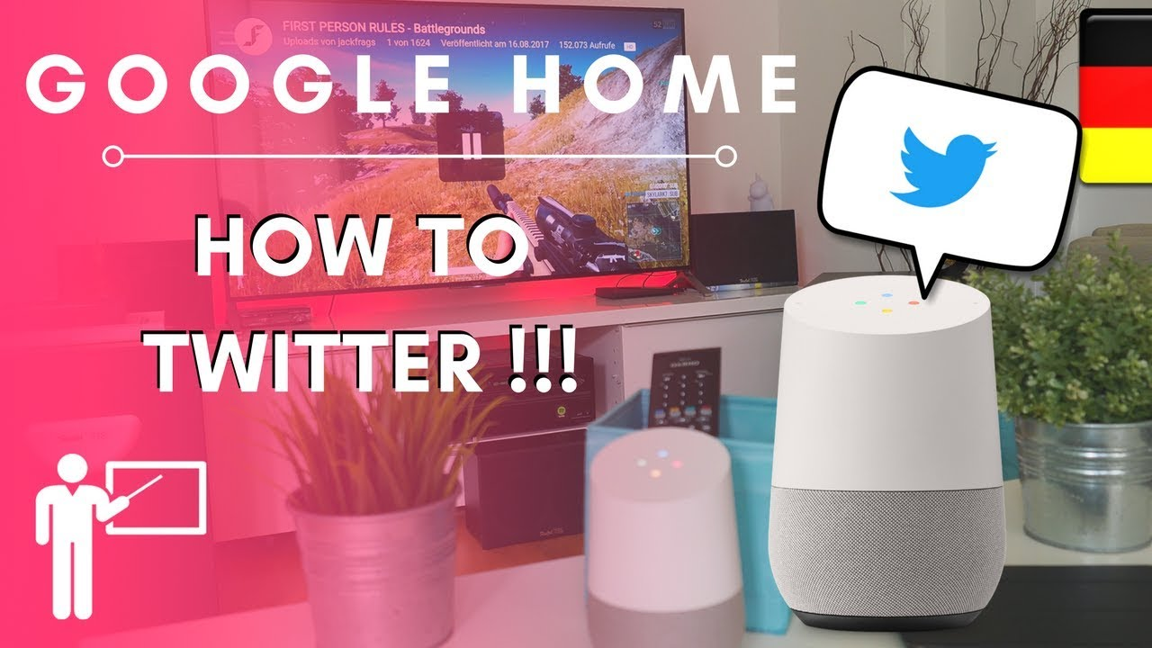 Google Home How To Twitter - Deutsches Tutorial