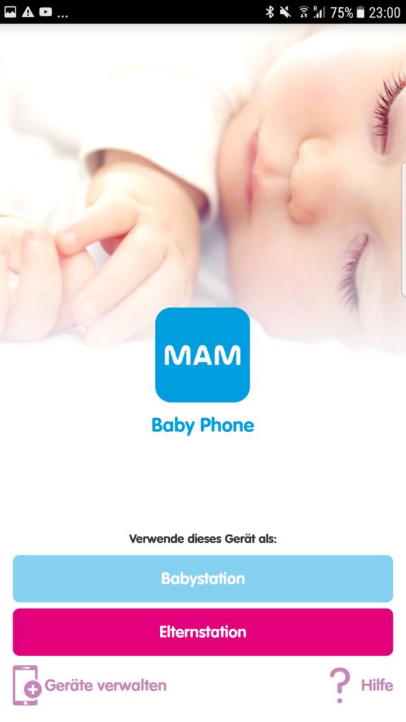 Die beste Babyphone App für den Urlaub