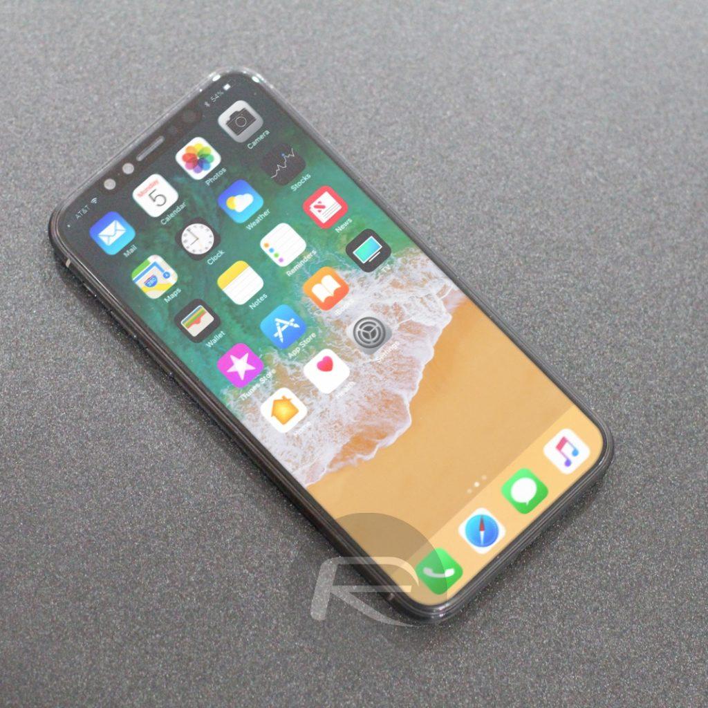 Schwarzes IPhone X