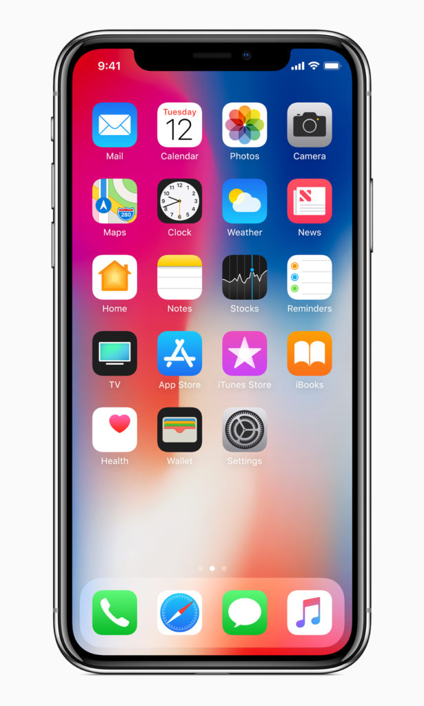 iPhone X - Frontansicht