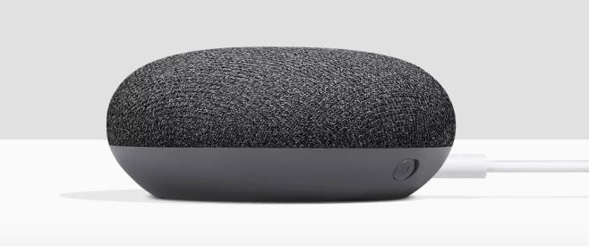 Google Home Mini - Karbon