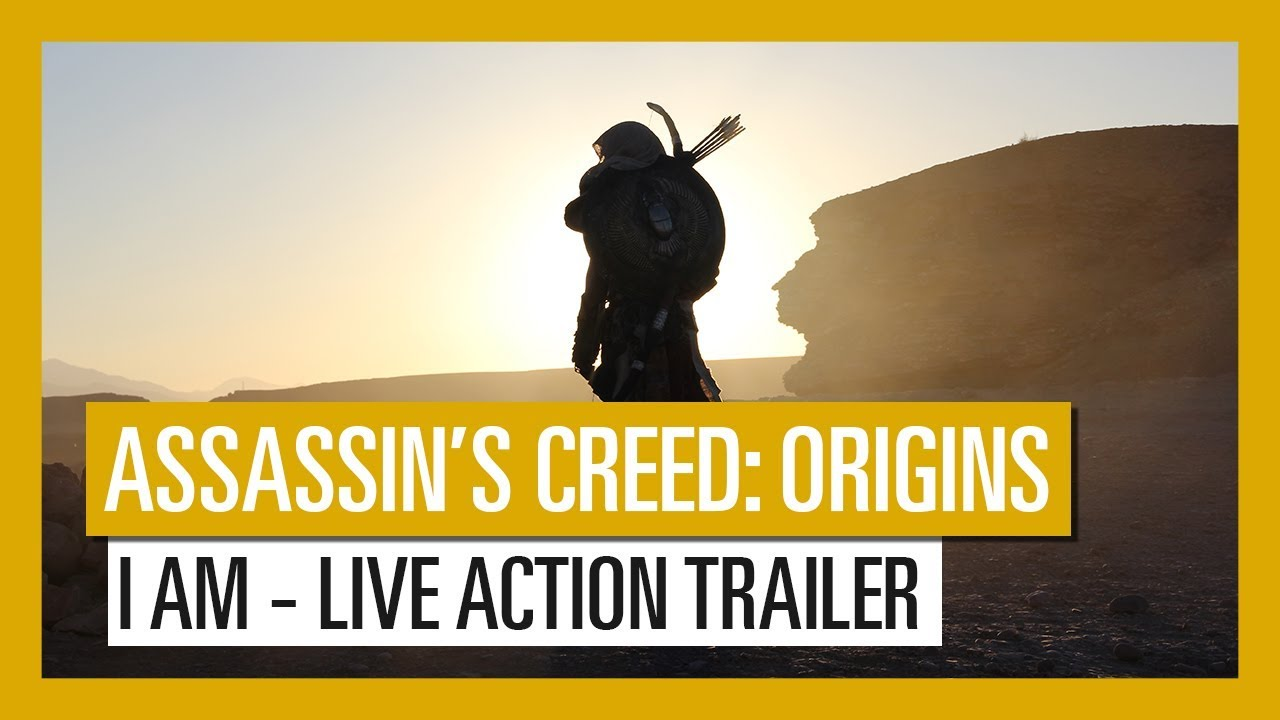 Assassin's Creed Origins Live Trailer