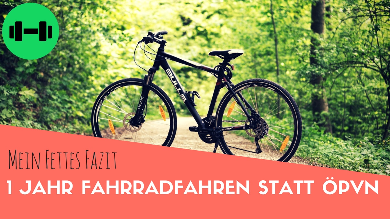 1 Jahr Fahrradfahren Statt ÖPVN – Mein Fettes Fazit