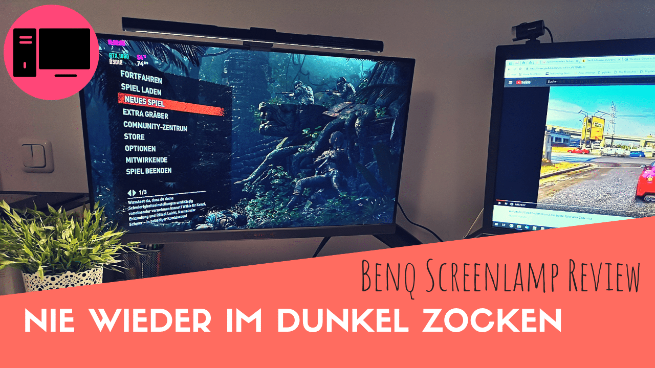 Gaming Monitor Beleuchtung